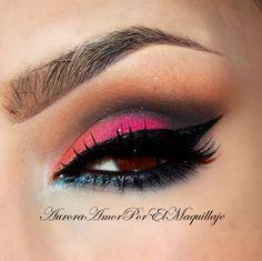 Drama Color eyeshadow makeup