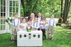 Love these kids! Bridesmaid Dresses, Wedding Dresses, Place Cards, Wedding Day, Place Card Holders, Kids, Bride Maid Dresses, Bride Gowns, Pi Day Wedding