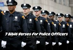 Bible Verses for Police Officers