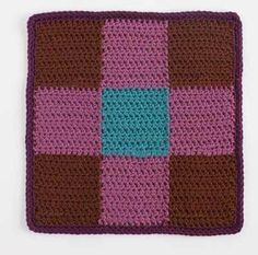 This classic quilt design is perfect for crochet afghans. Nine-Patch - Media - Crochet Me