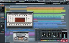 Cubase 7.5 in all its glory.