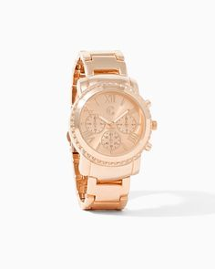Frozen in Time Chronograph Watch | UPC: 410006743496 Blush, Pink, Rose Gold, COTM