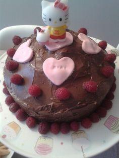 Tarta de chocolate para el cumpleaños de mi hermana mimi