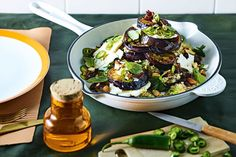 This eggplant agrodolce salad is super easy to make and is one of Nicky Reimer's seasonal favorites for spring.