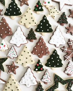 60 Easy Christmas Treats That'll Make Holiday Baking Even More Joyful The only thing more fun than making these sweets is eating them! Christmas Mood, Merry Little Christmas, Noel Christmas, Christmas Desserts, Christmas Treats, Christmas Baking, Holiday Treats, Christmas Decorations, Christmas Biscuits