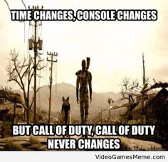 What makes me mad is that this picture is fallout..... the quote is from fallout -_-