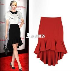 Stylish Ladies Women Fashion Sexy Irregular Fishtail Slim Skirt