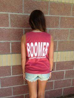 OU boomer Norman comfort colors tank top