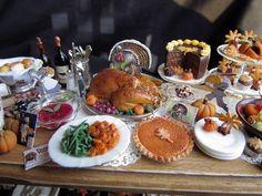Tiny Thanksgiving Day dinner
