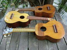 Dos ukuleles y un cuatro venezolano