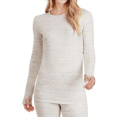 Women& Cuddl Duds Comfortwear Fleece-Lined Long Underwear Crewneck Top Casual Xl, Cuddle Duds, Sweat Dress, Long Underwear, Cold Weather Outfits, Crew Neck Shirt, Fall Outfits, Casual Dresses, Long Sleeve Shirts