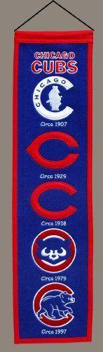 MLB Chicago Cubs Heritage Banner by Winning Streak. $21.99
