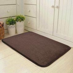 Floor Mat 50*80cm Anti-slip Doormat Kitchen Carpet Cartoon Printed Toilet Tapete Water Absorption Non-slip Rug Porch Doormat Elegant In Smell Home & Garden Home Textile