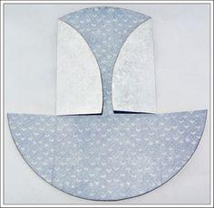 Mariannes papirverden.: Dobbelt tagkort med tutorial