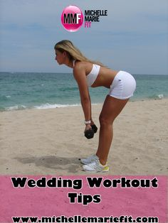 If you need to get in shape for your #wedding day. These #wedding #workout tips will help you create the plan for it.