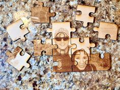 Plywood Design, Laser Engraved Gifts, Laser Cut Plywood, Picture Engraving, Unique Anniversary Gifts, Photo On Wood, Wooden Puzzles, Cool Lighting, Laser Engraving