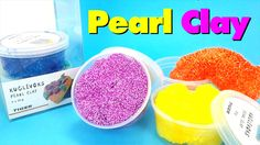 "Foam Pearl Clay Unboxing - ""Kuglevoks"" Pearl Clay from Tiger Shop Review"