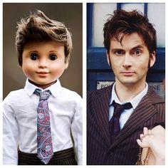 Custom 18 inch Boy Doll! Too cute!