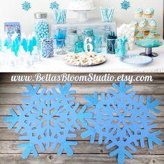 Frozen Decorations Snowflake Decor Frozen by BellasBloomStudio