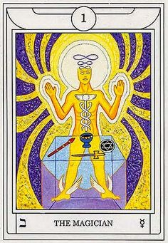 The Magician - Golden Dawn Magical Tarot