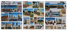 Level 3 folio board specs and exemplar. New Zealand Art, Visual Diary, Art Portfolio, Art Boards, Level 3, Photo Wall, Drawings, Frame, Student Work