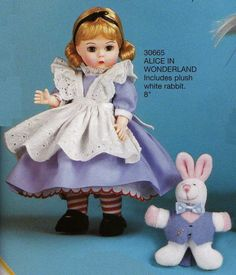 "Madame Alexander, Alice in Wonderland, 8"" Alice 30665 2004"