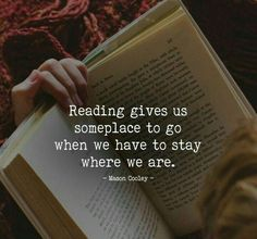 Reading Gives Us Someplace To Go is part of Book quotes - Reading Gives Us Someplace To Go I Love Books, Good Books, Books To Read, True Quotes, Motivational Quotes, Inspirational Quotes, Film Quotes, Quotes For Book Lovers, Book Sayings