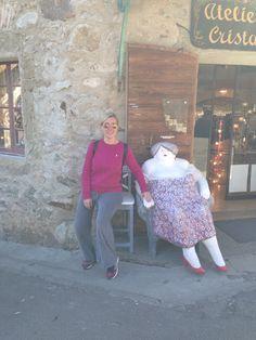 Με τη φίλη μου τη χοντρούλα! Yvoire, France