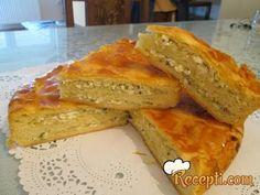 Recept za Lisnatu pitu sa tikvicama i sirom. Za spremanje ovog jela neophodno je pripremiti brašno, mleko, ulje, so, jaja, kvasac, šećer, tikvice, luk, jaja, sir, đumbir, peršun, puter.