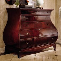 Bombe Chest Furniture | New Standards Bombe Chest By Pennsylvania House,  39 2305.