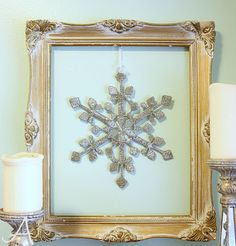 floating frames - change centrepiece with the seasons