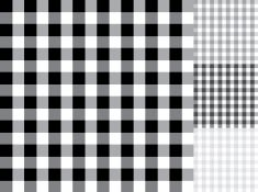 Black and white Checked table cloth background pattern set vector art…