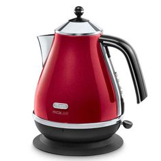 DeLonghi Micalite Icona Jug Kettle Red - perfect valentine gift ideas x