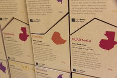 Urban Ethnic Coffee Blends (Student Project) on Packaging of the World - Creative Package Design Gallery