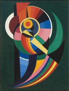 Abstract Art Thoughts: Weekend Edition 39 Auguste Herbin : power. Zigzag. Nowhere