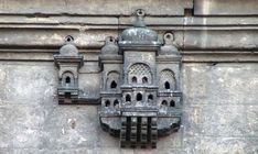 Bird house built into Ayazma Mosque Istanbul, Turkey Islamic Architecture, Art And Architecture, Architecture Details, Historical Architecture, Birdhouse Designs, Birdhouse Ideas, Magic City, Ceramic Houses, Bird Cages