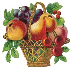 View album on Yandex. Decoupage, Die Cut, Vintage Fall, Flower Clipart, Fruits Basket, Clips, Flower Frame, Food Illustrations, Painting Patterns