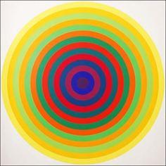 Julio Le Parc, Argentinia, Cercles successifs, 1996. Bois, plastique