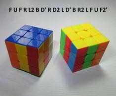 Patron Rubik 3x3 Figura N. 8 por WL Rubik 3x3