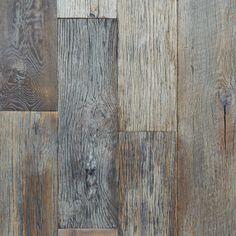 """Reclaimed Oak Floor """"Rustic Aquitaine"""""""