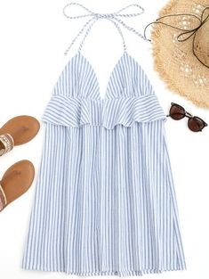 GET $50 NOW | Join Zaful: Get YOUR $50 NOW!https://m.zaful.com/halter-striped-ruffles-beach-dress-p_449641.html?seid=nm6mkjqnecfmovjvs2v1i6g4h5zf449641