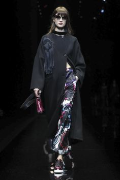 Emporio Armani Ready To Wear Fall Winter 2017 Milan