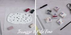 Découvrez le tuto DIY planche de terrazzo en pâte Fimo Terrazzo, Idee Diy, Crafts For Kids, Creations, Diy Home Crafts, Handmade, Crafts For Children, Kids Arts And Crafts, Kid Crafts