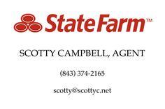 Apprentice Level State Farm Scotty Campbell, Agent http://www.statefarm.com/agent/US/SC/Lake-City/Scotty-Campbell-KPHPZ1YS000