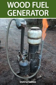 Using Wood to Fuel a Generator! (How to Build a Wood Gasifier W/Demonstration) Use wood to fuel a generator with this homemade wood gasifier out of parts there are little or no cost. Off The Grid, Wood Gasifier, Solar Shingles, Wood Fuel, Solar Power System, Energy Projects, Sustainable Energy, Nikola Tesla, Diy Solar
