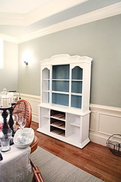 re-do dining room hutch