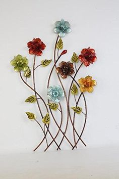 """Get fantastic ideas on """"metal tree art decor"""". They are offered for you on our website. Metal Flower Wall Art, Outdoor Metal Wall Art, Metal Tree Wall Art, Floral Wall Art, Metal Art, Tree Artwork, Metal Candle Holders, Colorful Wall Art, Wall Sculptures"""