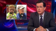 Sean Hannity responds to Stephen Colbert comparing him to a child, saying he's not even funny