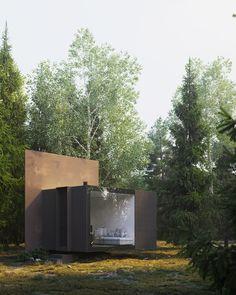 Garden Studio, Prefab, Outdoor Furniture, Outdoor Decor, Lodges, Building A House, Architecture Design, 30th, Modern Design
