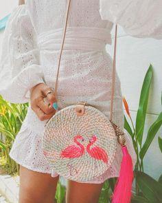 Crotchet Bags, Clutch Pattern, Diy Bags, Crochet Designs, I Love Fashion, Straw Bag, Rattan, Decoupage, Women Wear